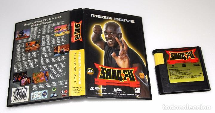 SHAQ FU SEGA MEGA DRIVE VIDEOJUEGO SHAQ-FU (Juguetes - Videojuegos y Consolas - Sega - MegaDrive)