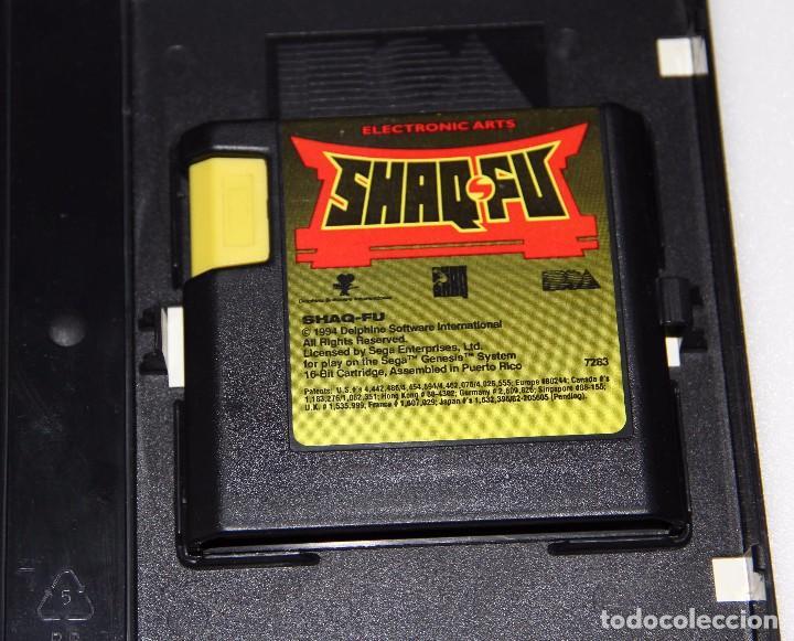 Videojuegos y Consolas: SHAQ FU SEGA MEGA DRIVE VIDEOJUEGO SHAQ-FU - Foto 2 - 145603249