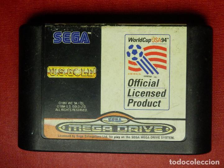 JUEGO DE CONSOLA - CARTUCHO - U.S. GOLD - WORLD CUP USA 94 - MEGADRIVE - SEGA MEGA DRIVE (Juguetes - Videojuegos y Consolas - Sega - MegaDrive)
