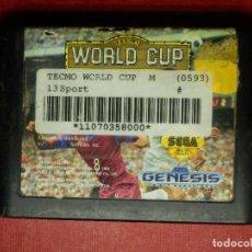 Videojuegos y Consolas: JUEGO DE CONSOLA - CARTUCHO - TECMO WORLD CUP - 13SPORT - MEGADRIVE - SEGA MEGA DRIVE . Lote 99150355