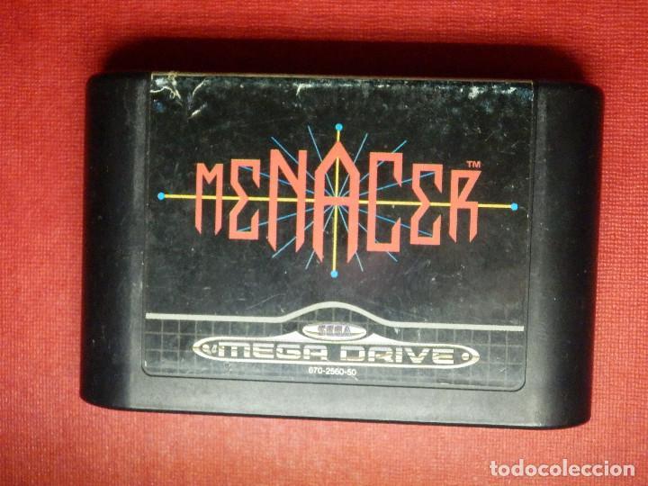 JUEGO DE CONSOLA - CARTUCHO - MENACER 6 - MEGADRIVE - SEGA MEGA DRIVE - PARA PISTOLA - (Juguetes - Videojuegos y Consolas - Sega - MegaDrive)