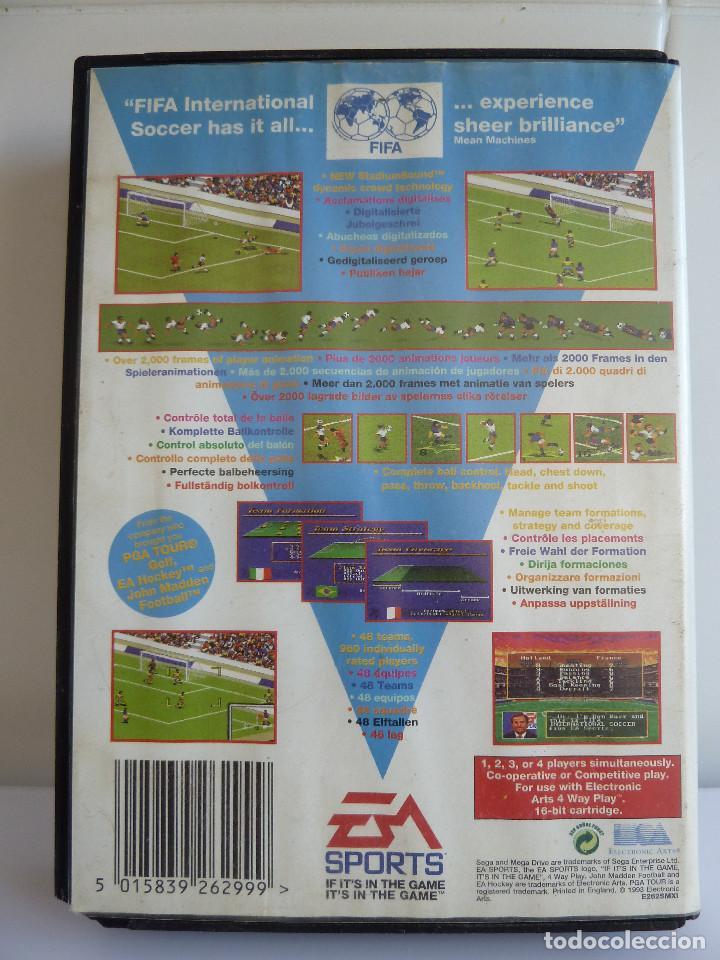 Videojuegos y Consolas: JUEGO MEGADRIVE - FIFA INTERNATIONAL SOCCER - Foto 2 - 99560111