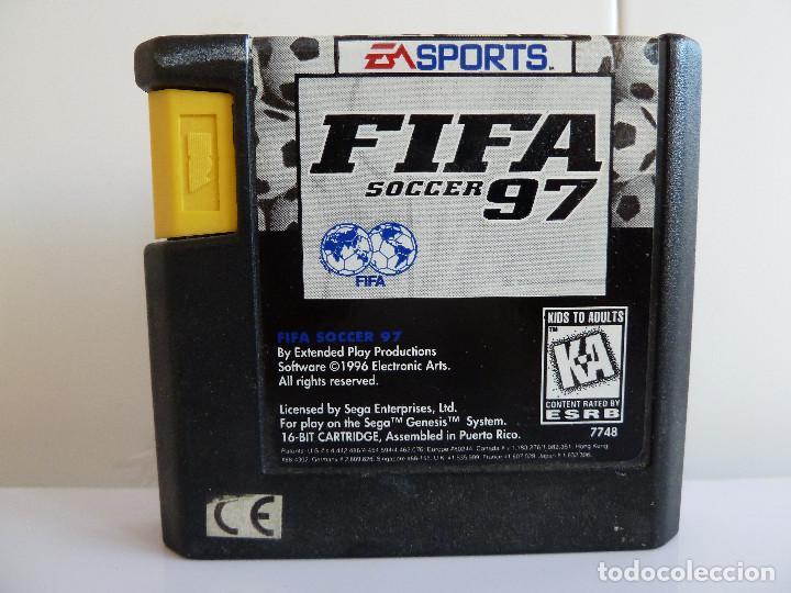 Videojuegos y Consolas: JUEGO MEGADRIVE - FIFA 97 SOCCER - Foto 4 - 99560799