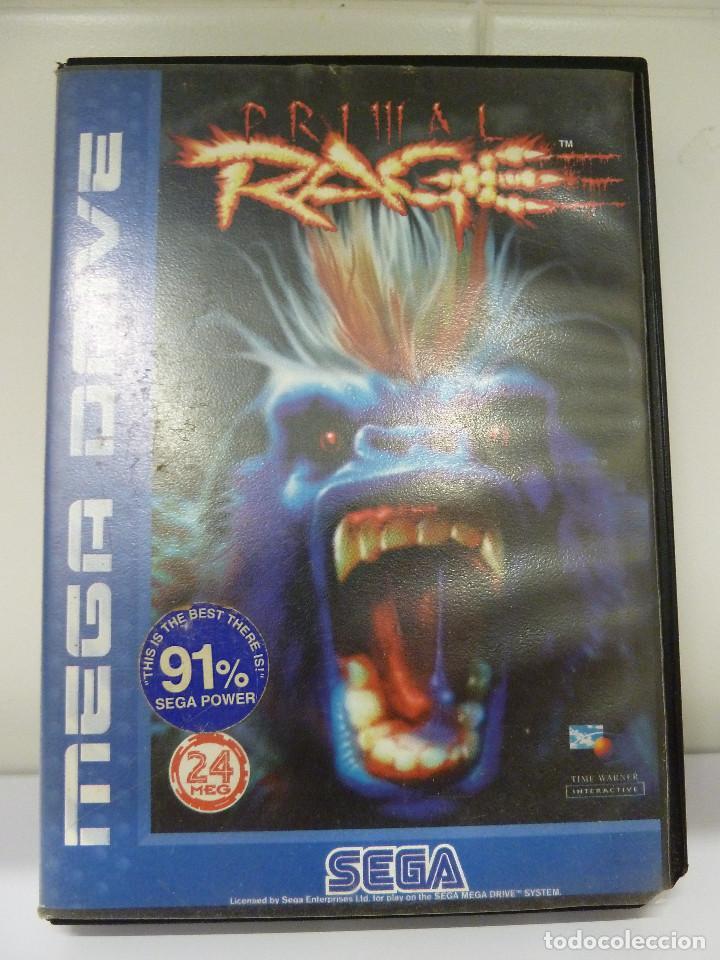 JUEGO MEGADRIVE - PRIMAL RAGE (Juguetes - Videojuegos y Consolas - Sega - MegaDrive)