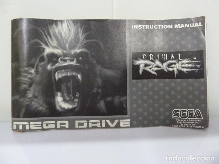 Videojuegos y Consolas: JUEGO MEGADRIVE - PRIMAL RAGE - Foto 7 - 99689531