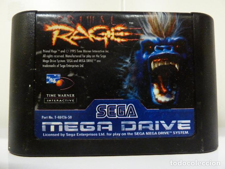 Videojuegos y Consolas: JUEGO MEGADRIVE - PRIMAL RAGE - Foto 11 - 99689531