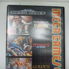 Videojuegos y Consolas: JUEGO MEGADRIVE - MEGA GAMES 2. Lote 99727723