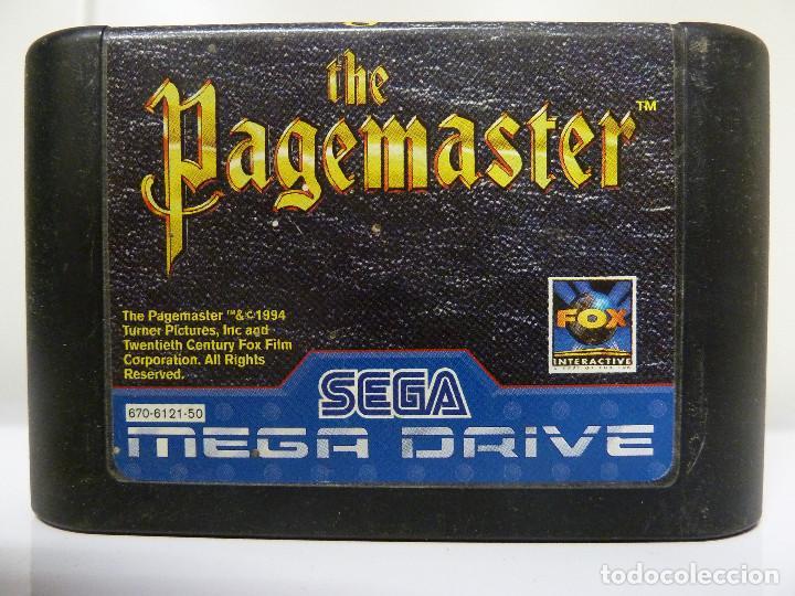 JUEGO MEGADRIVE - THE PAGEMASTER (Juguetes - Videojuegos y Consolas - Sega - MegaDrive)