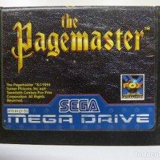 Videojuegos y Consolas: JUEGO MEGADRIVE - THE PAGEMASTER. Lote 99729491