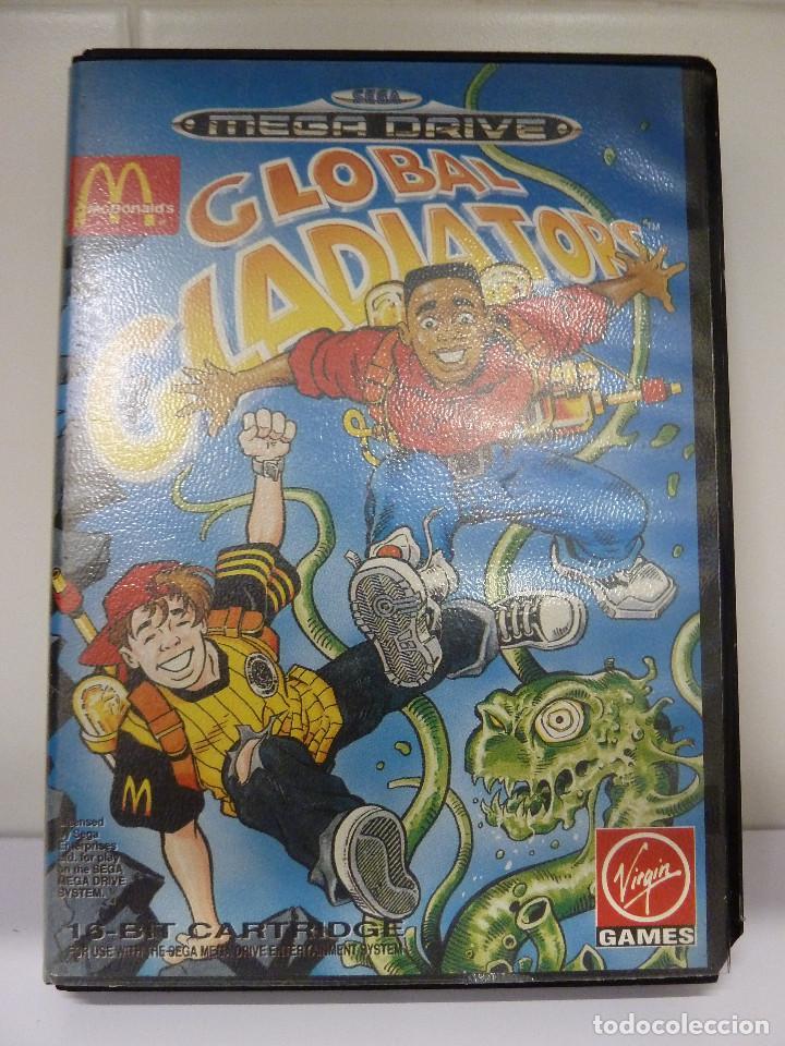 JUEGO MEGADRIVE - GLOBAL GLADIATORS (Juguetes - Videojuegos y Consolas - Sega - MegaDrive)