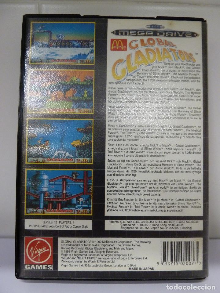 Videojuegos y Consolas: JUEGO MEGADRIVE - GLOBAL GLADIATORS - Foto 2 - 99729675