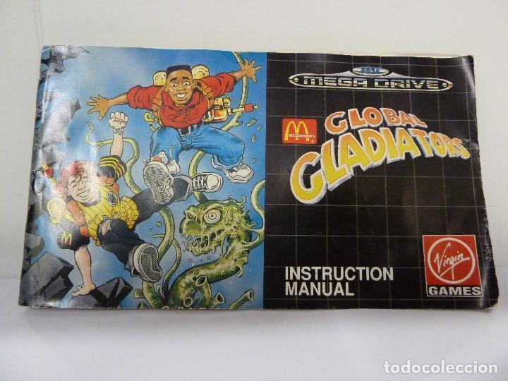 Videojuegos y Consolas: JUEGO MEGADRIVE - GLOBAL GLADIATORS - Foto 4 - 99729675