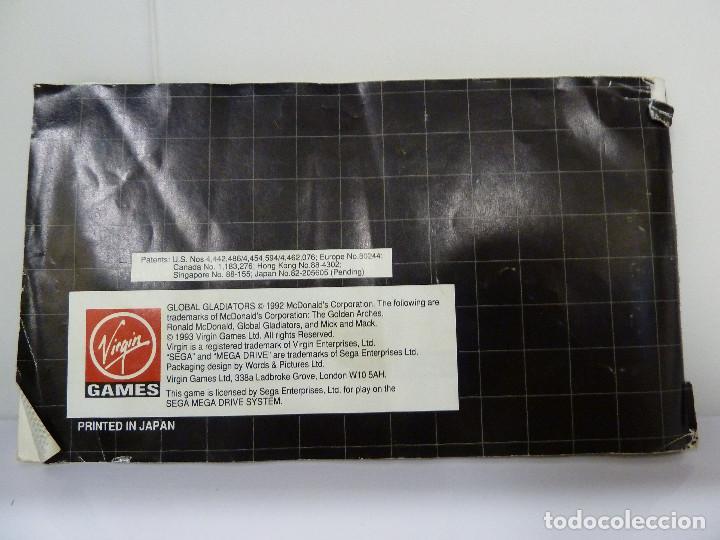 Videojuegos y Consolas: JUEGO MEGADRIVE - GLOBAL GLADIATORS - Foto 5 - 99729675