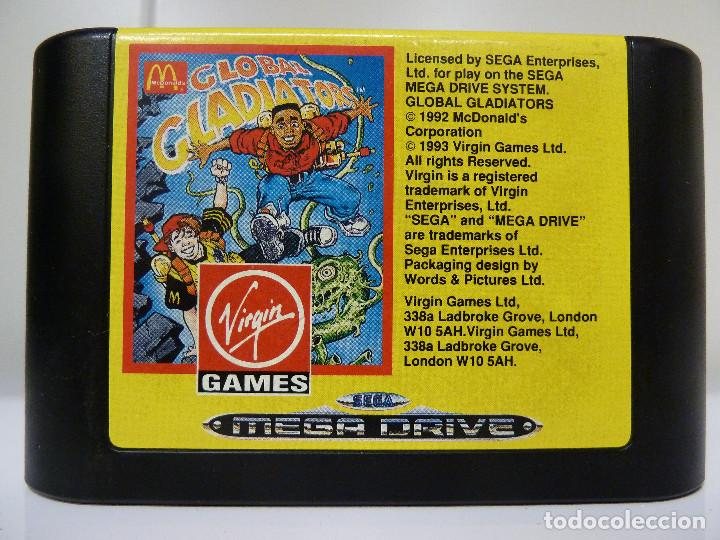 Videojuegos y Consolas: JUEGO MEGADRIVE - GLOBAL GLADIATORS - Foto 6 - 99729675