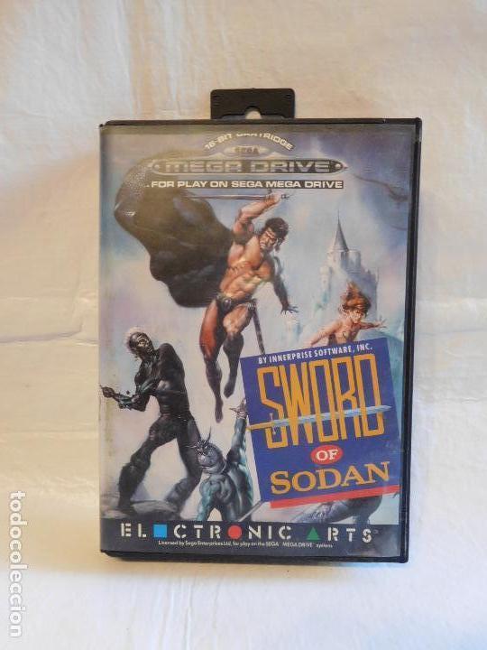 Juego Consola Sega Mega Drive Sword Of Sodan Co Comprar