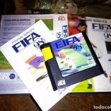 Videojuegos y Consolas: MEGADRIVE MEGA DRIVE VIDEOJUEGO JUEGO CARTUCHO FIFA 98 FUTBOL RUMBO AL MUNDIAL SEGA. Lote 100023431