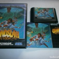 Videojuegos y Consolas: GRAND SLAM THE TENNIS TOURNAMENT SEGA MEGA DRIVE PAL ESPAÑA COMPLETO. Lote 179196520