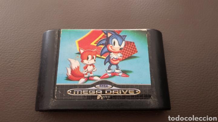 JUEGO SEGA MEGADRIVE SONIC THE HEDGEHOG 2 (Juguetes - Videojuegos y Consolas - Sega - MegaDrive)