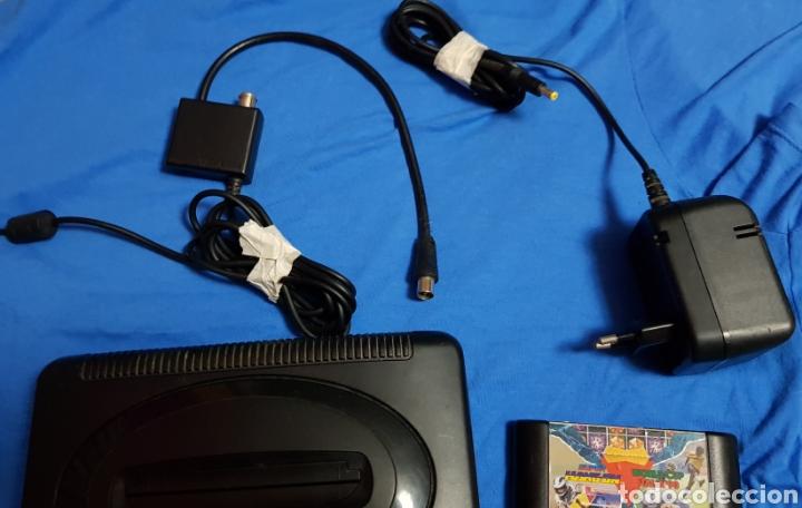 Videojuegos y Consolas: SEGA MEGA DRIVE II CONSOLA VINTAGE SEGA MEGADRIVE 2 MANDOS CABLES Y UN JUEGO - Foto 4 - 102785964
