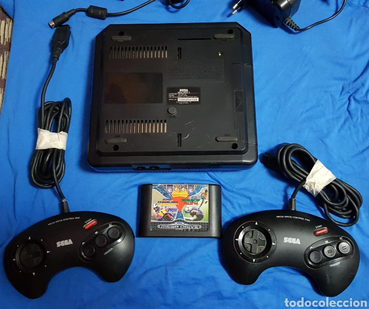 Videojuegos y Consolas: SEGA MEGA DRIVE II CONSOLA VINTAGE SEGA MEGADRIVE 2 MANDOS CABLES Y UN JUEGO - Foto 5 - 102785964