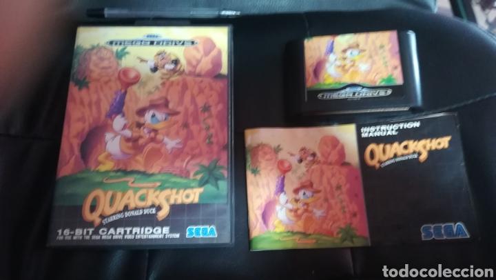 SEGA MEGADRIVE, QUACKSHOT, PAL, ESPAÑA, COMPLETO (Juguetes - Videojuegos y Consolas - Sega - MegaDrive)