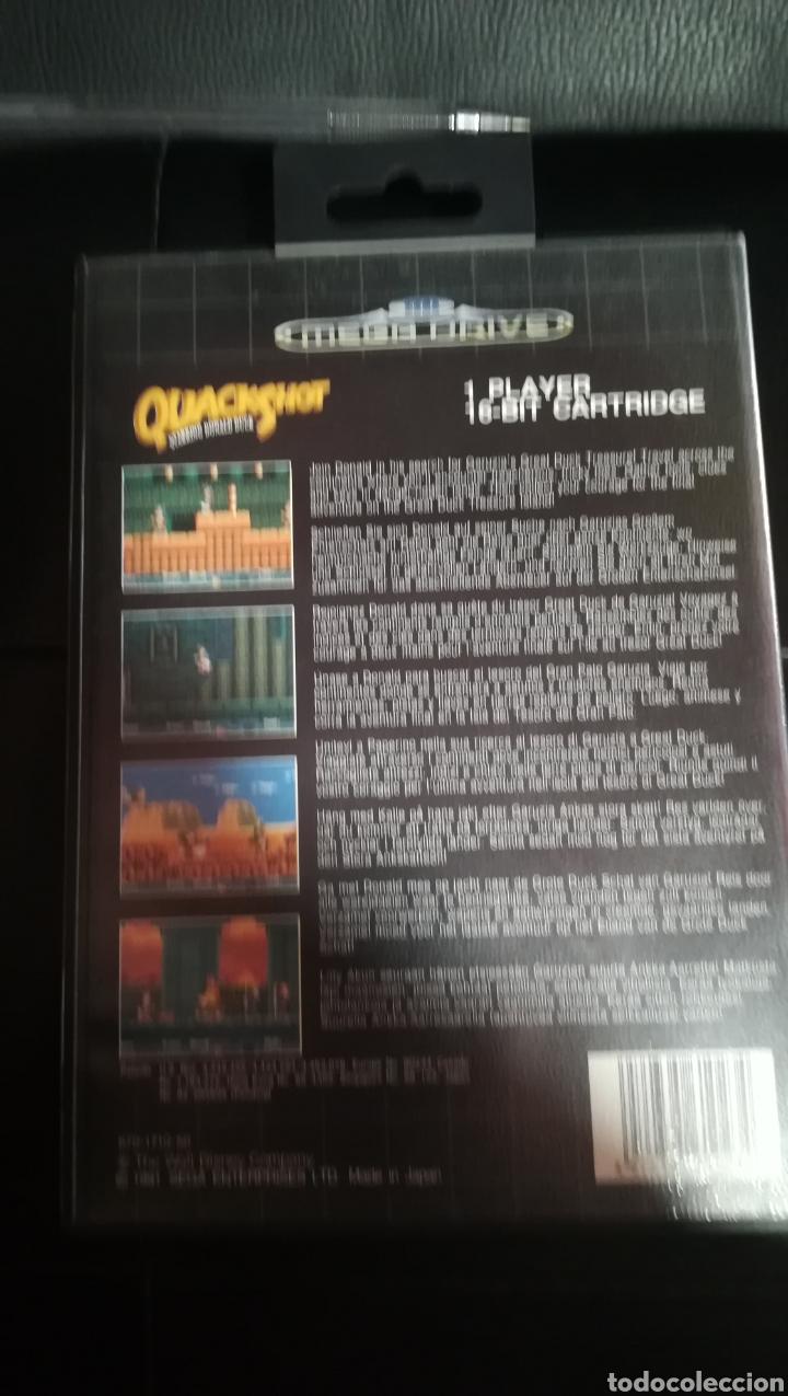 Videojuegos y Consolas: Sega megadrive, quackshot, pal, españa, completo - Foto 3 - 103478547