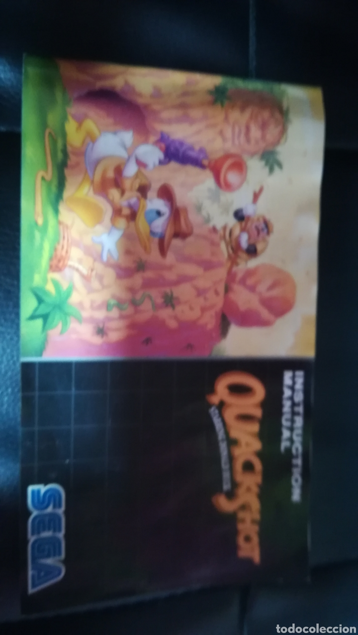 Videojuegos y Consolas: Sega megadrive, quackshot, pal, españa, completo - Foto 4 - 103478547