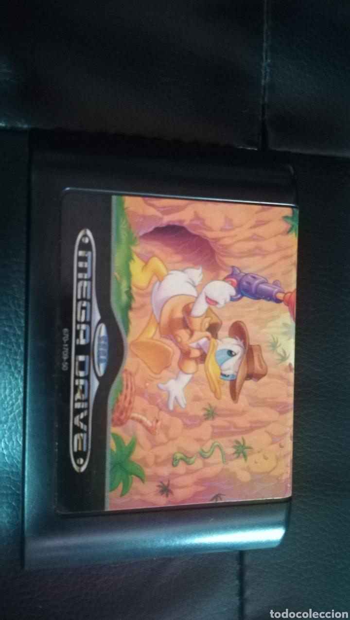 Videojuegos y Consolas: Sega megadrive, quackshot, pal, españa, completo - Foto 6 - 103478547