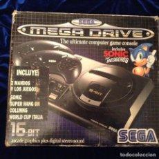 Videojuegos y Consolas: SEGA MEGA DRIVE 16 BIT. Lote 103789119