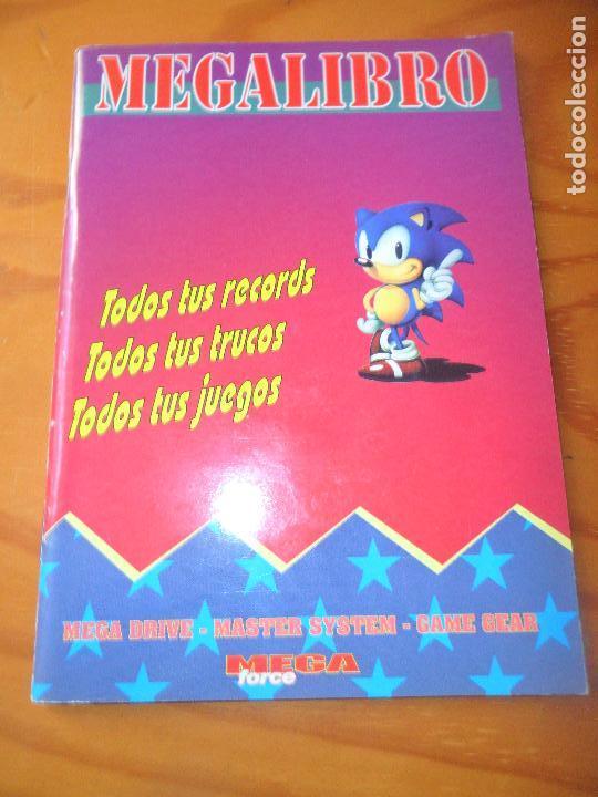 MEGALIBRO PARA LOS JUEGOS DE SEGA MEGADRIVE - (Juguetes - Videojuegos y Consolas - Sega - MegaDrive)