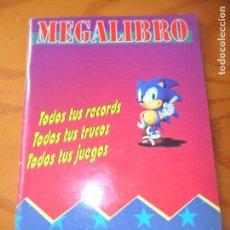 Videojuegos y Consolas: MEGALIBRO PARA LOS JUEGOS DE SEGA MEGADRIVE -. Lote 104296251