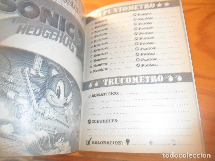 Videojuegos y Consolas: MEGALIBRO PARA LOS JUEGOS DE SEGA MEGADRIVE - - Foto 2 - 104296251