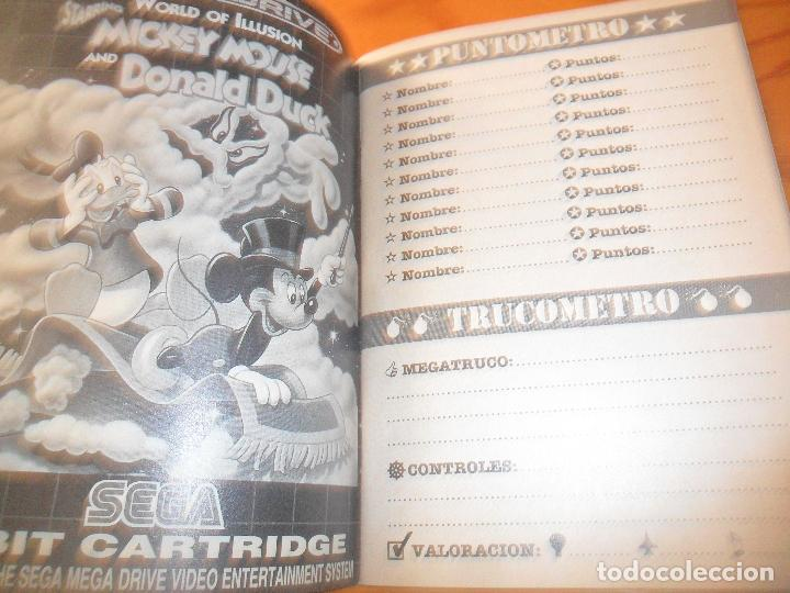 Videojuegos y Consolas: MEGALIBRO PARA LOS JUEGOS DE SEGA MEGADRIVE - - Foto 3 - 104296251