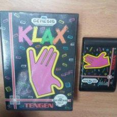 Videojuegos y Consolas: KLAX - SEGA GENESIS -. Lote 104982071