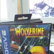 Videojuegos y Consolas: WOLVERINE SEGA MEGADRIVE CAJA. Lote 105613559