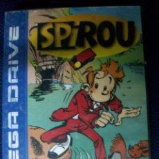 Videojuegos y Consolas: SPIROU - MEGADRIVE. Lote 106035095