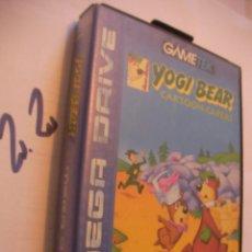 Videojuegos y Consolas: ANTIGUO JUEGO MEGADRIVE YOGI BEAR. Lote 107853311