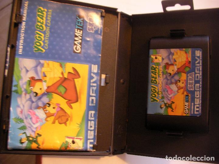 Videojuegos y Consolas: ANTIGUO JUEGO MEGADRIVE YOGI BEAR - Foto 2 - 107853311