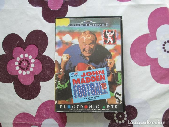 JOHN MADDEN FOOTBALL´93 MEGADRIVE (Juguetes - Videojuegos y Consolas - Sega - MegaDrive)