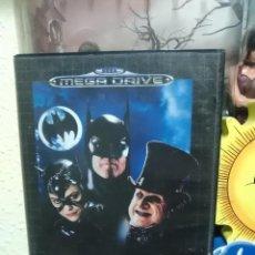 Videojuegos y Consolas: BATMAN RETURNS - SEGA MEGADRIVE - PAL - CARTUCHO - COMPLETO. Lote 107968843