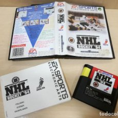Videojuegos y Consolas: JUEGO SEGA MEGADRIVE MEGA DRIVE NHL HOCKEY 94. Lote 108751315