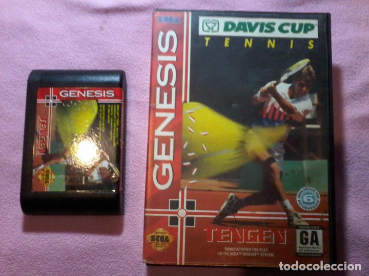 Davis Cup Tennis Juego Para Sega Genesis Mega Comprar