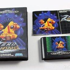 Videojuegos y Consolas: SEGA MEGADRIVE - ZERO WING - COMPLETO - PAL ESP. Lote 109287683