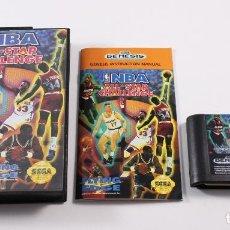 Videojuegos y Consolas: SEGA MEGADRIVE - NBA ALL-STAR CHALLENGE - COMPLETO - PAL. Lote 109295299