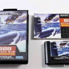 Videojuegos y Consolas: SEGA MEGADRIVE - 688 ATTACK SUB - COMPLETO - PAL ESP. Lote 109295859