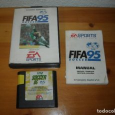 Videojuegos y Consolas: JUEGO SEGA - FIFA 95 SOCCER -CONSOLA MEGA DRIVE MEGADRIVE - VER DETALLES. Lote 109300591