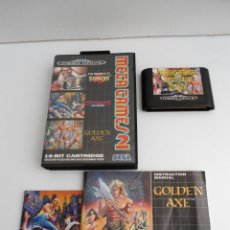 Videojuegos y Consolas: MEGA GAMES II 2 - REVENGE SHINOBI GOLDEN AXE STREETS OF RAGE -MEGA DRIVE - SEGA MEGADRIVE 2 MANUALES. Lote 109315115