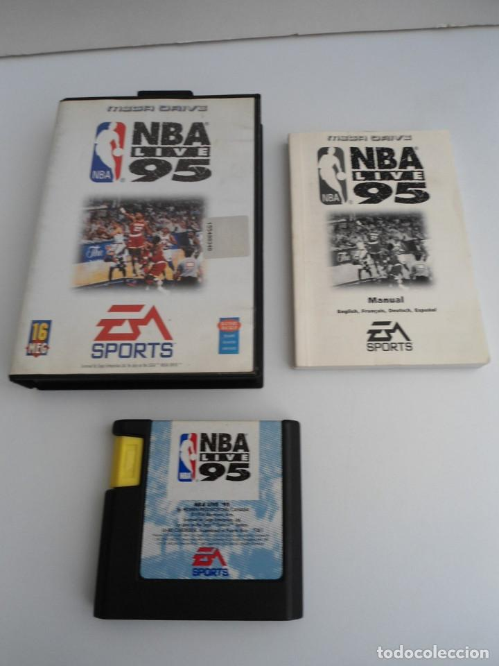 NBA LIVE 95 - MEGA DRIVE - SEGA MEGADRIVE - COMPLETO CON INSTRUCCIONES - EXCELENTE ESTADO (Juguetes - Videojuegos y Consolas - Sega - MegaDrive)