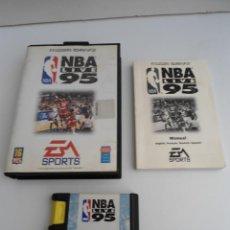 Videojuegos y Consolas: NBA LIVE 95 - MEGA DRIVE - SEGA MEGADRIVE - COMPLETO CON INSTRUCCIONES - EXCELENTE ESTADO. Lote 109316983