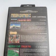 Videojuegos y Consolas: MEGA GAMES I 1 - MEGA DRIVE - SEGA MEGADRIVE - COMPLETO CON INSTRUCCIONES -VARIANTE PRINTED IN JAPAN. Lote 109317571